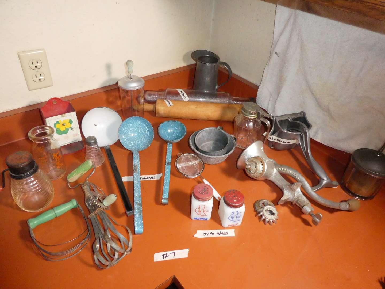 Lot # 7 - Vintage Kitchen Tools (main image)