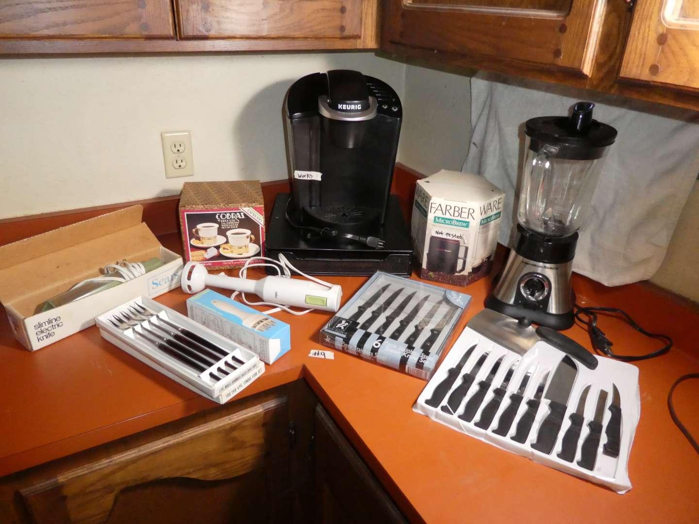 Lot # 9 - Misc. Kitchen Tools  (main image)