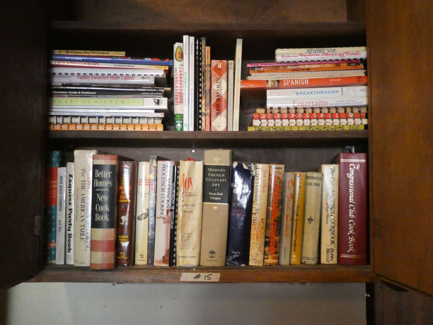 Lot # 15 - Old Cook Books (main image)