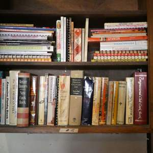 Lot # 15 - Old Cook Books