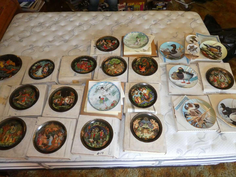 Lot # 19 - Decorative Plates (main image)