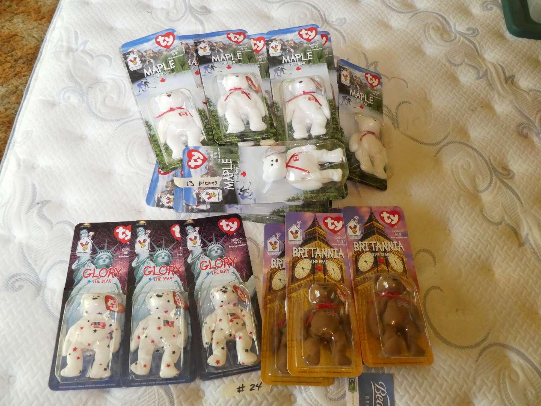Lot # 24 - Beanie Babies In Original Packaging (main image)