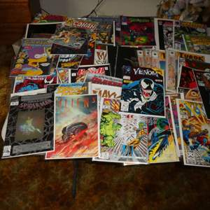 Lot # 41 - Comic Books From The '80s & '90s