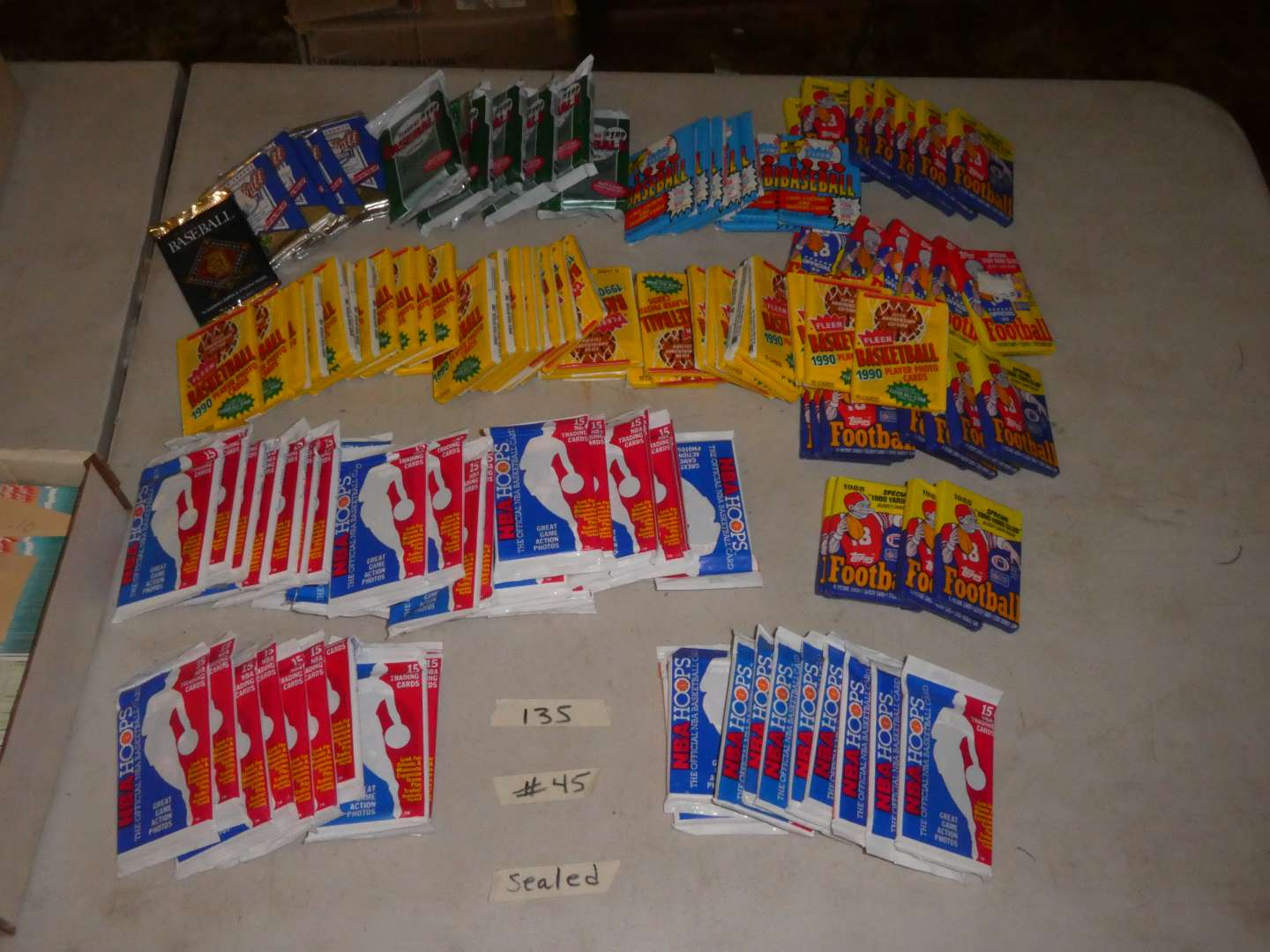 Lot # 45 - Sports Memorabilia Cards From The 1980's & 1990's (main image)