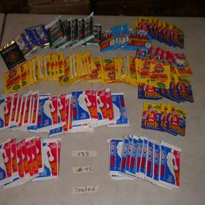 Lot # 45 - Sports Memorabilia Cards From The 1980's & 1990's