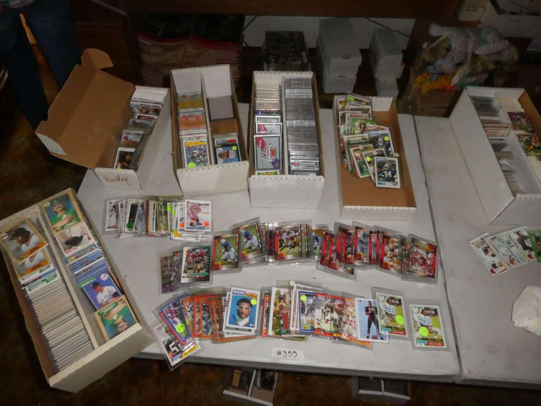 Lot # 355- Baseball, Football, And Hockey Cards-1990's (main image)