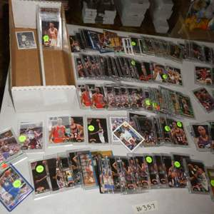 Lot # 357- Basketball cards from the 1990's