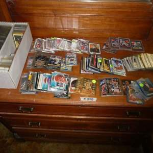 Lot # 358- Baseball & Basketball Memorabilia Cards