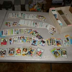 Lot # 359- Vintage Sports Memorabilia Cards-70's & 80's