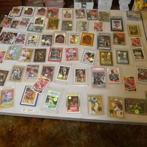 Lot # 360- Sports Memorabilia Cards