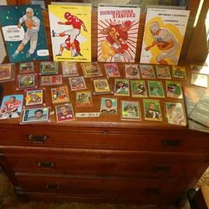 Lot # 361- Vintage Sports Memorabilia Cards