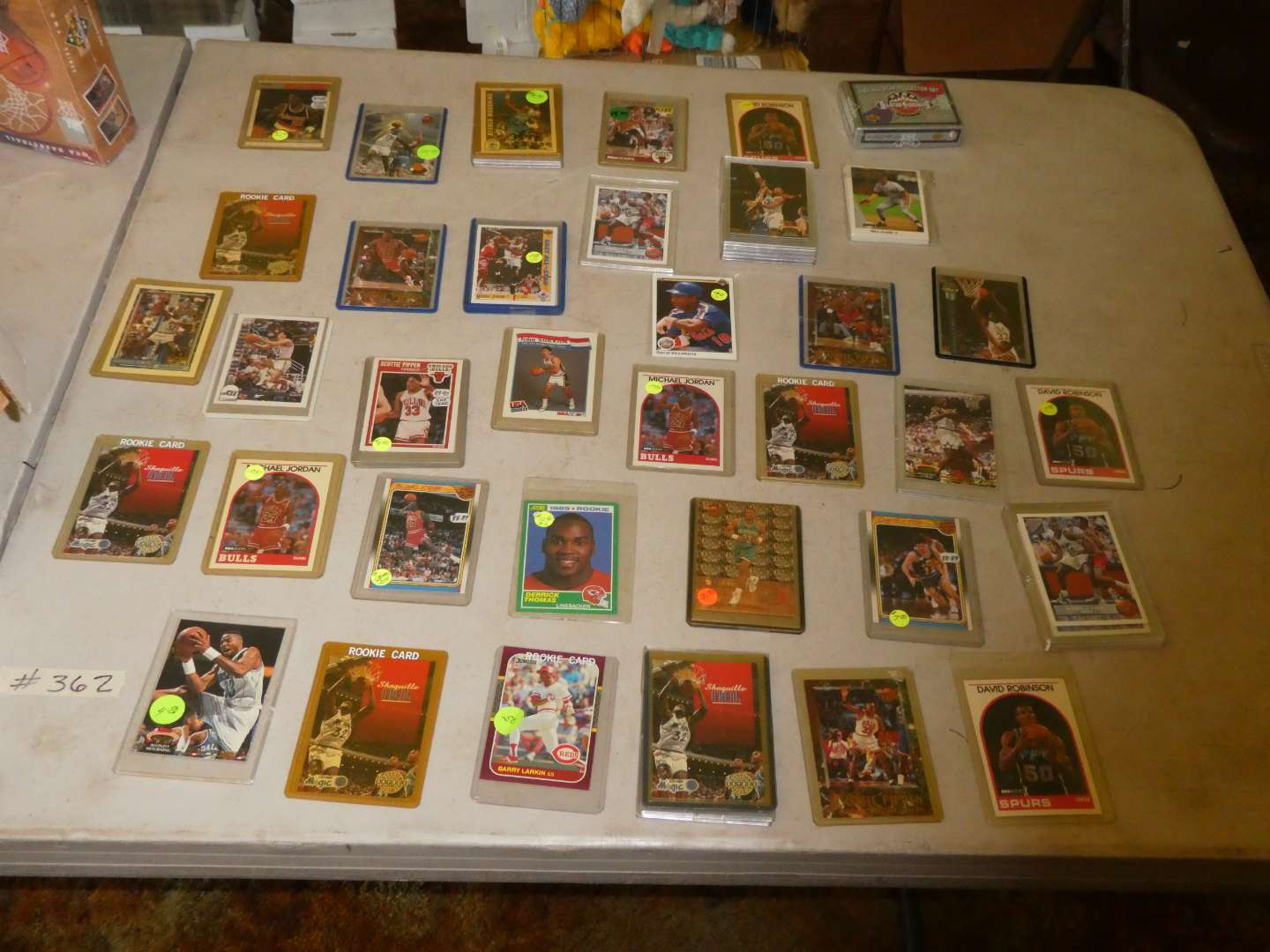 Lot # 362- Late 80's And Early 90's Sports Cards (main image)