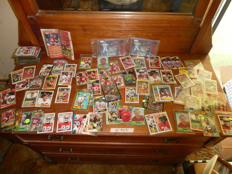 Lot # 363- Early 90's Football Cards (main image)