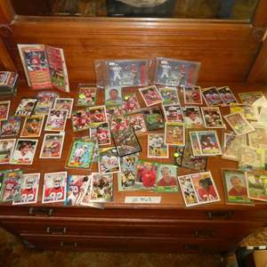 Lot # 363- Early 90's Football Cards