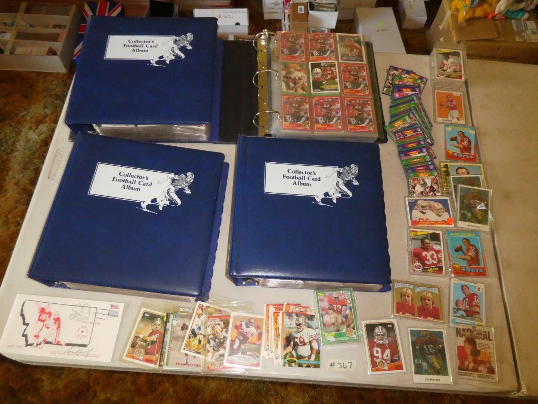 Lot # 367- 1980s Football Cards (main image)