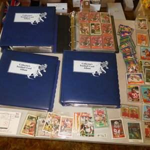 Lot # 367- 1980s Football Cards
