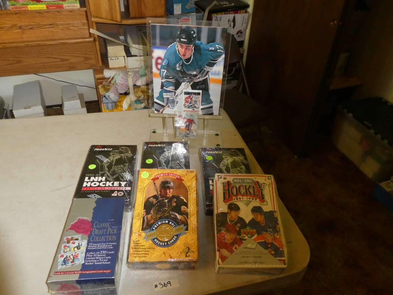 Lot # 369- Hockey Memorabilia  (main image)