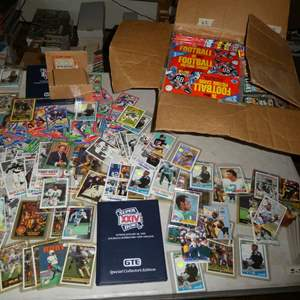 Lot # 373- Football Cards from the 1980's to 1990's