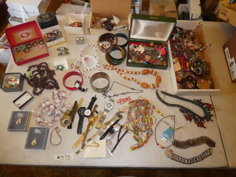 Lot # 375- Costume Jewelry  (main image)