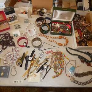 Lot # 375- Costume Jewelry