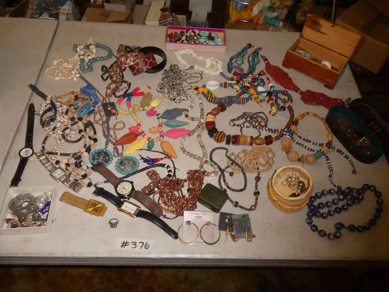 Lot # 376- Costume Jewelry  (main image)