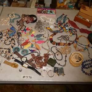 Lot # 376- Costume Jewelry