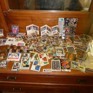 Lot # 377- Large Variety Of Sports & Misc. Cards