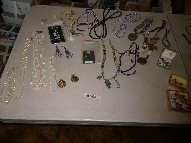 Lot # 382- Costume Jewelry  (main image)