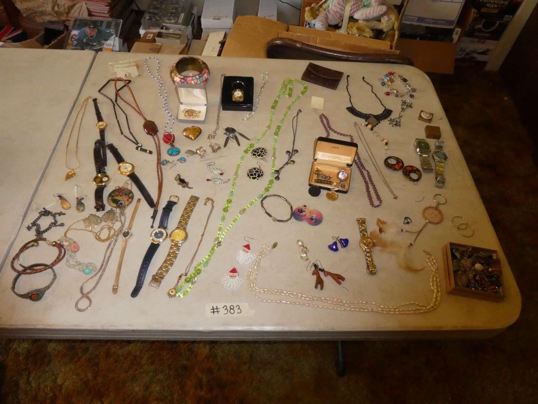Lot # 383- Costume Jewelry  (main image)