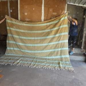 Lot # 389- Large Serape Style Blanket