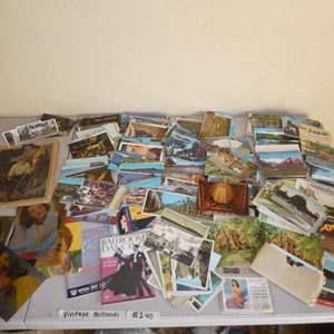 Lot # 240 - Huge Lot of Vintage Postcards