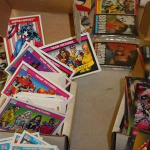 Lot # 364- Marvel Cards