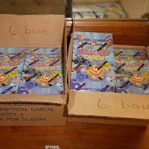 Lot # 368- Beanie Babies Collectors Cards