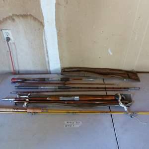 Lot # 457 - Vintage Fishing Rods