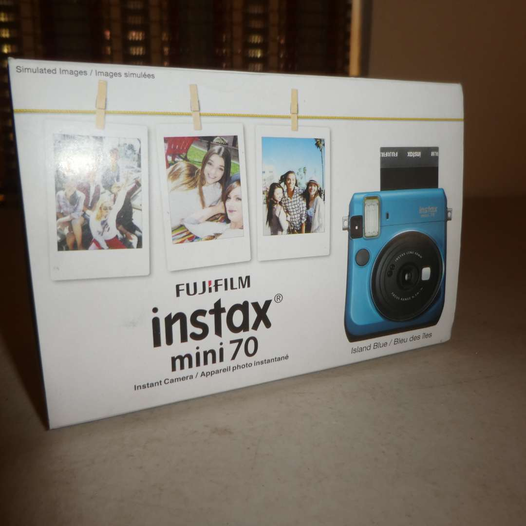 Lot # 165 - FujiFilm Instax Mini 70 (Color Blue)(New in Box)(Not Tested) (main image)