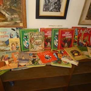 Auction Thumbnail for: Lot # 169 - Vintage Children's Books