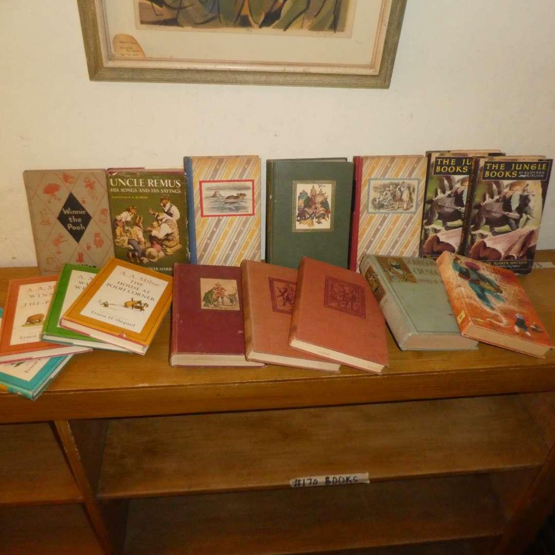 Lot # 170 - Vintage Children's Books  (main image)