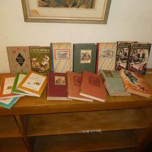 Auction Thumbnail for: Lot # 170 - Vintage Children's Books