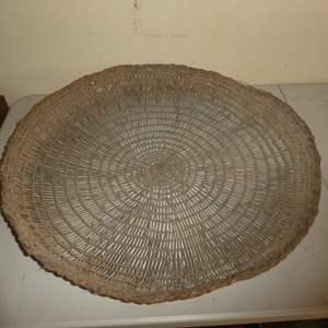 Lot # 195 - Local Northern California Native American Sifter Basket