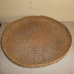 Auction Thumbnail for: Lot # 196 -Local Northern California Native American Sifter Basket