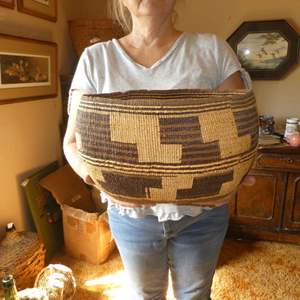 Lot # 198 - Large Local Northern California Native American Basket