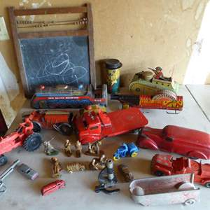 Lot # 442 - Adorable Vintage Toys