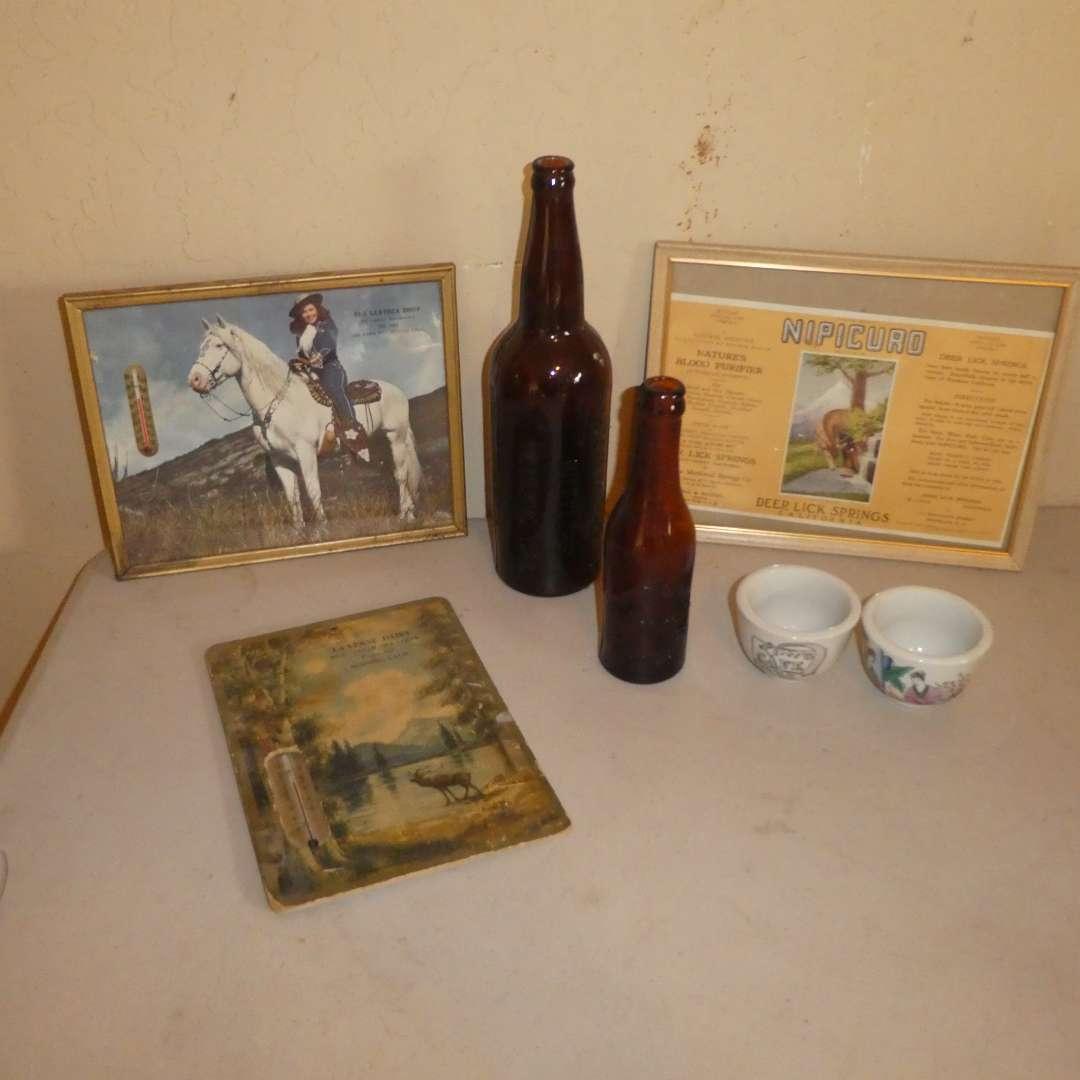 Lot # 177 -Redding Collectibles - Barner & Riebe Bottlers, Hoefer & Mevius Bottlers, La Verne Dairy,The Leather Shop & More  (main image)