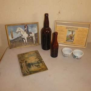 Lot # 177 -Redding Collectibles - Barner & Riebe Bottlers, Hoefer & Mevius Bottlers, La Verne Dairy,The Leather Shop & More