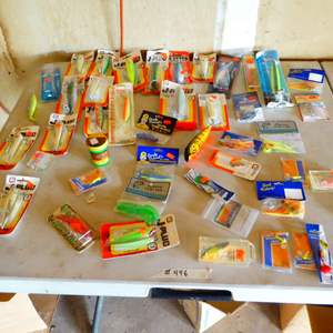 Lot # 446 - Variety of Fishing Lures