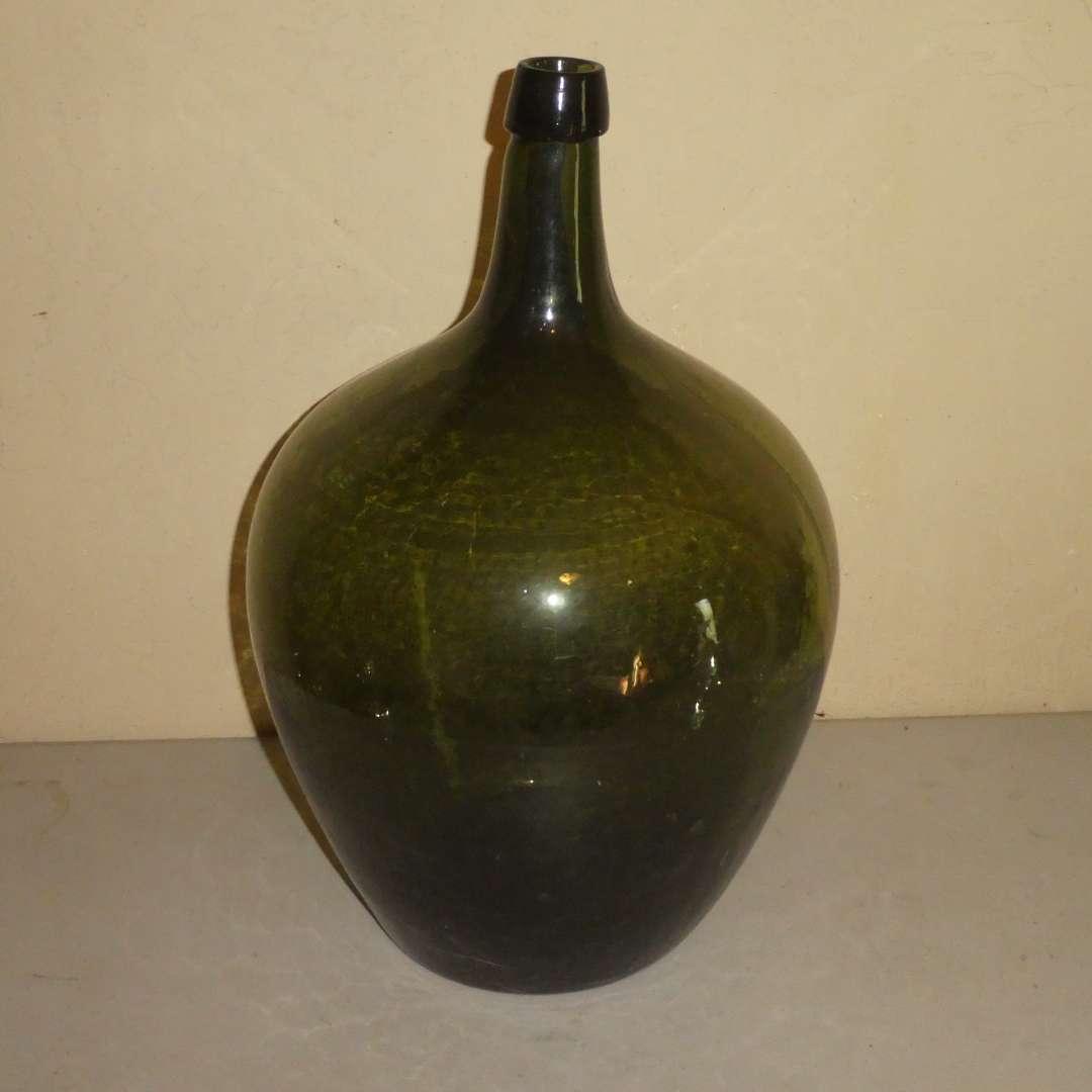 Lot # 202 - Antique Demijohn (3 Piece Mold, Applied Top) (main image)