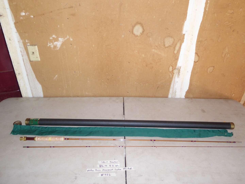 Lot # 456 - Split Bamboo 81/2 Ft. 4.6wt. Walton Powers Hexagraph Custom Fly Rod  (main image)