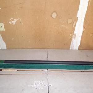 Lot # 456 - Split Bamboo 81/2 Ft. 4.6wt. Walton Powers Hexagraph Custom Fly Rod