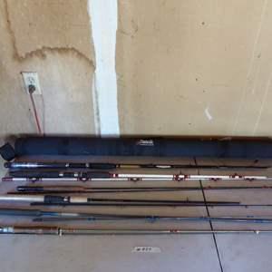 Lot # 459 - Vintage Fishing Rods
