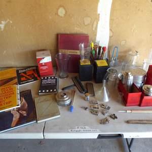 Lot # 463 - Photographic Dark Room Supplies